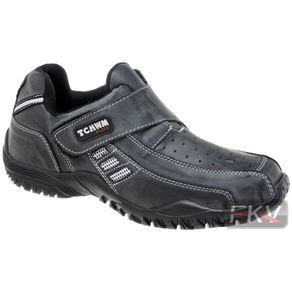 Sapatenis-Velcro-Cinza
