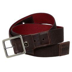 Cinto-em-elastico-2-em-1-marrom-vermelho-ponteira-couro-EL61-1