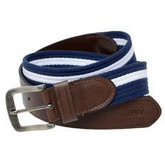 Cinto-Fita-Algodao-Azul-Branco-ponteira-couro-GO80-1