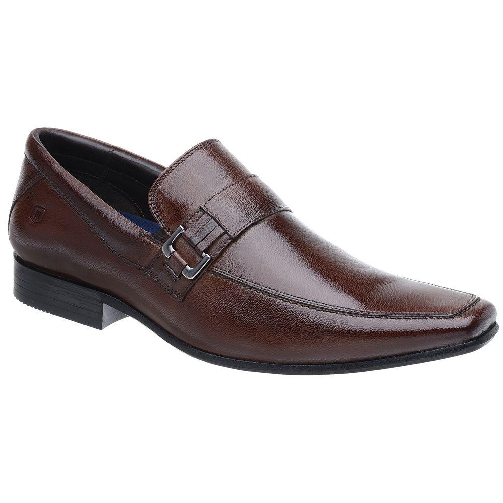 7b616ec2c18 Sapato Social Malbork Em Couro Pelica e Amortecedor - FKV Calçados
