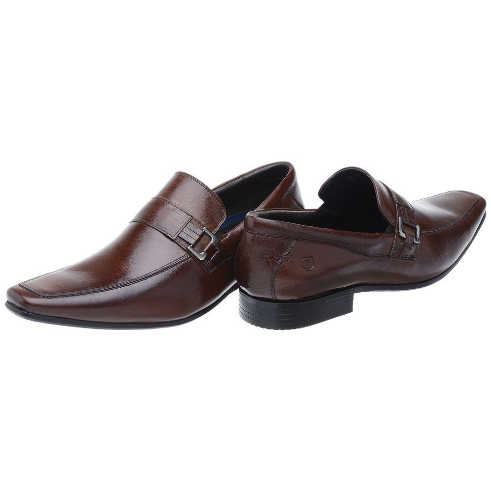 4124ba75dc Sapato Social Malbork Em Couro Pelica e Amortecedor - FKV Calçados