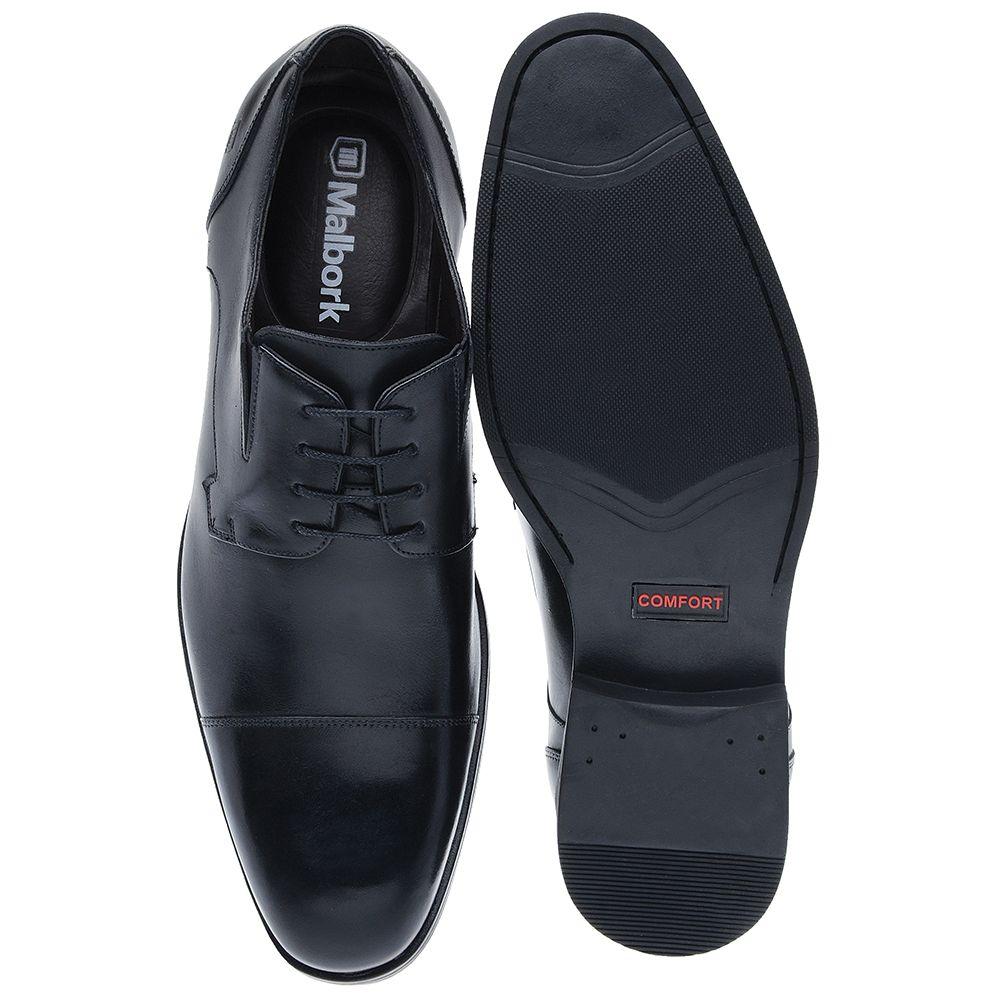 a405aaba08 Sapato Oxford Malbork Em Couro Natural Solado Comfort - FKV Calçados