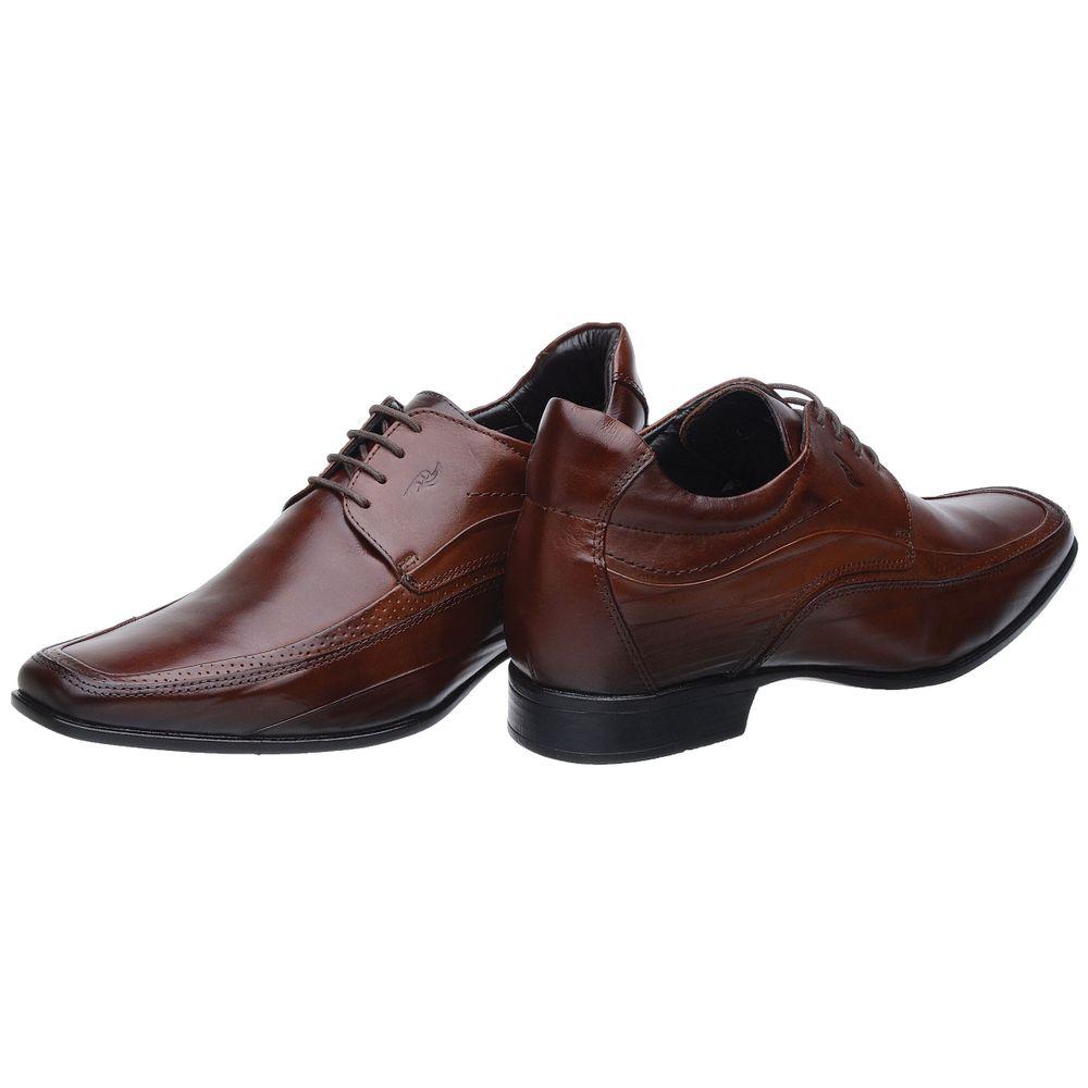 8ad51a5abd Sapato Social Rafarillo Linha Alth Você + Alto Em Couro - FKV Calçados