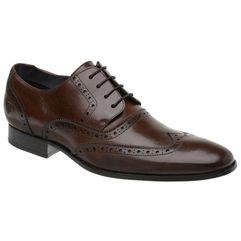 e14318c95b Sapato Oxford Masculino Malbork em Couro Marrom 516 - FKV Calçados