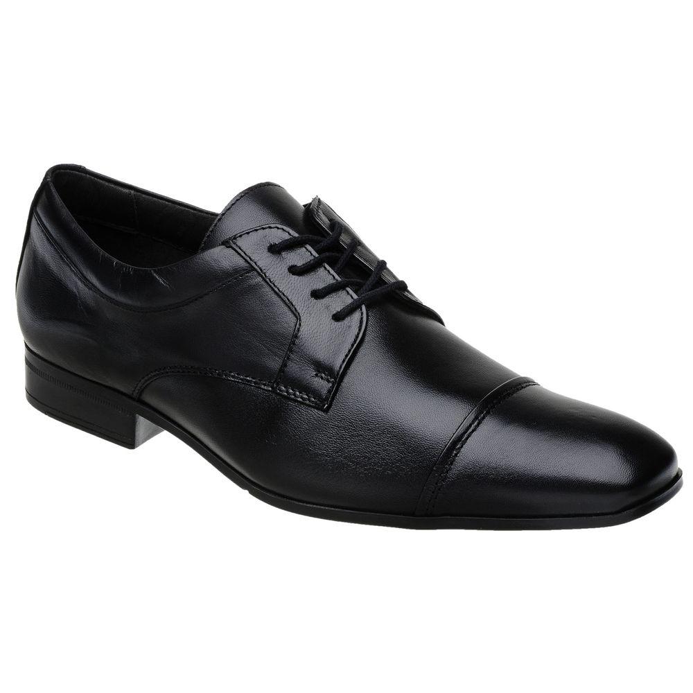 9f7c56faa2 Sapato Doctor Pé Extremamente Leve Couro de Carneiro Preto 68501 ...