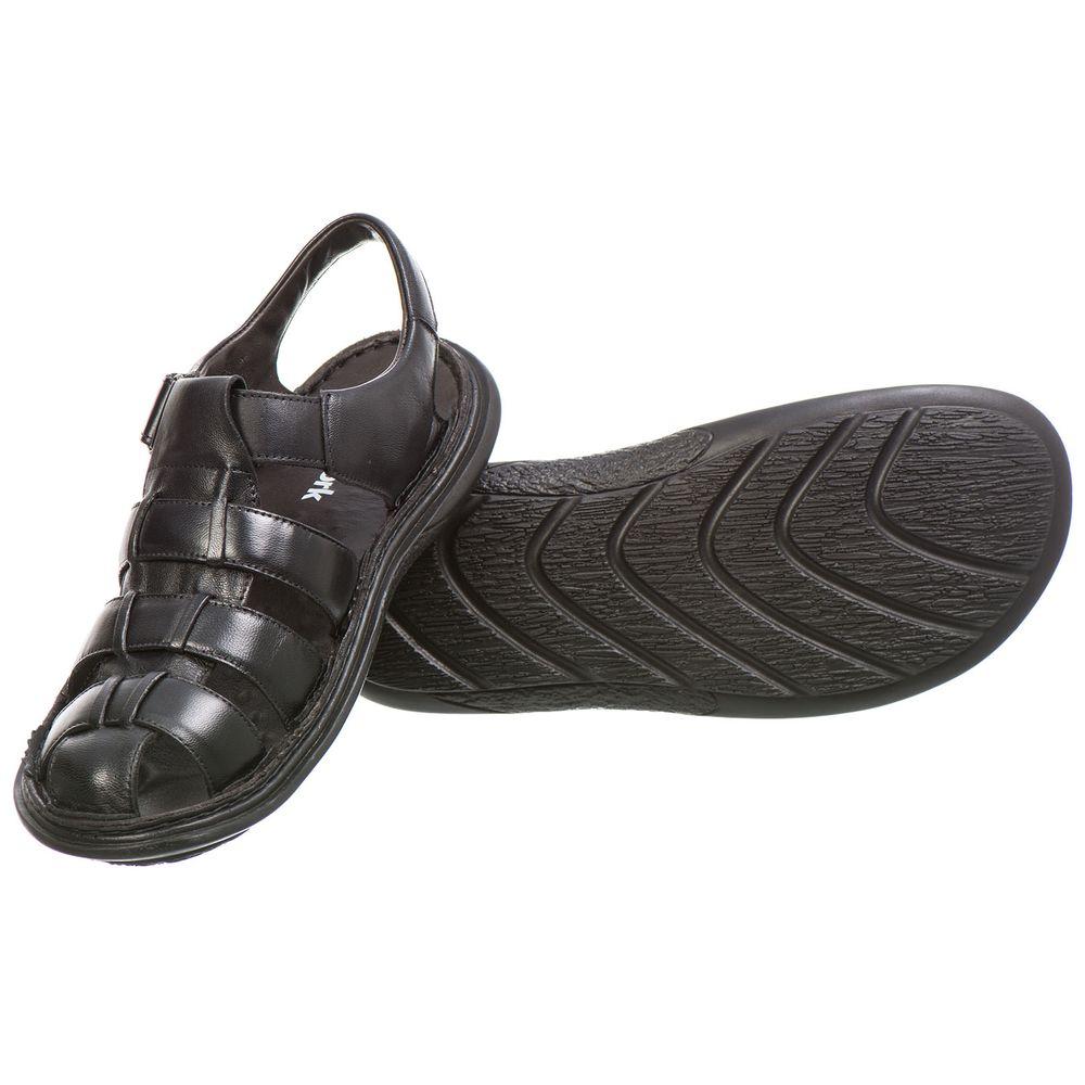 55c0ebc85d FKV Calçados · Masculino · Sandália. Sandalia--Masculina--Malbork-Conforto -em-Couro-Carneiro-