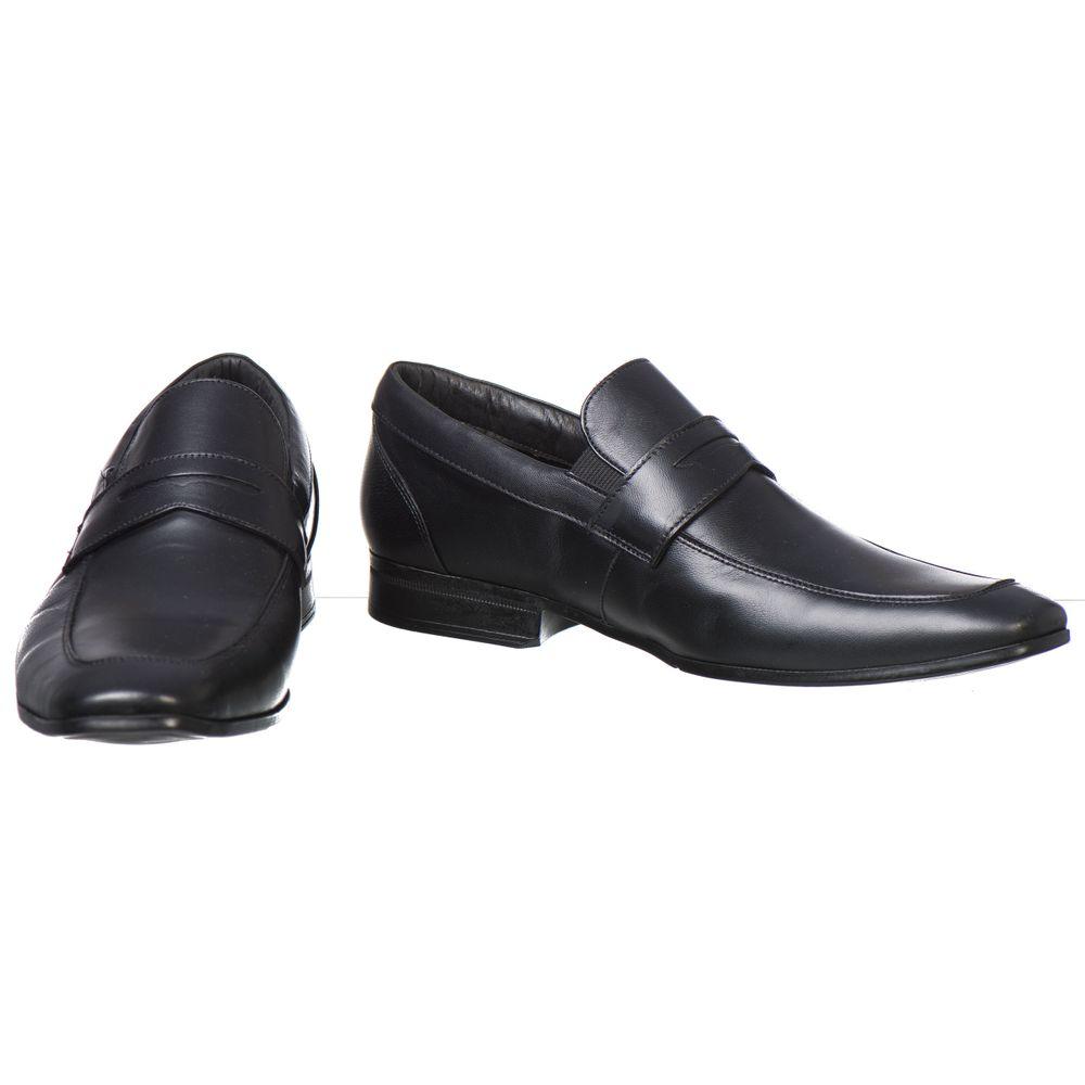 e60ecef052 Sapato Doctor Pé Extremamente Leve Couro de Carneiro Preto 68504 ...