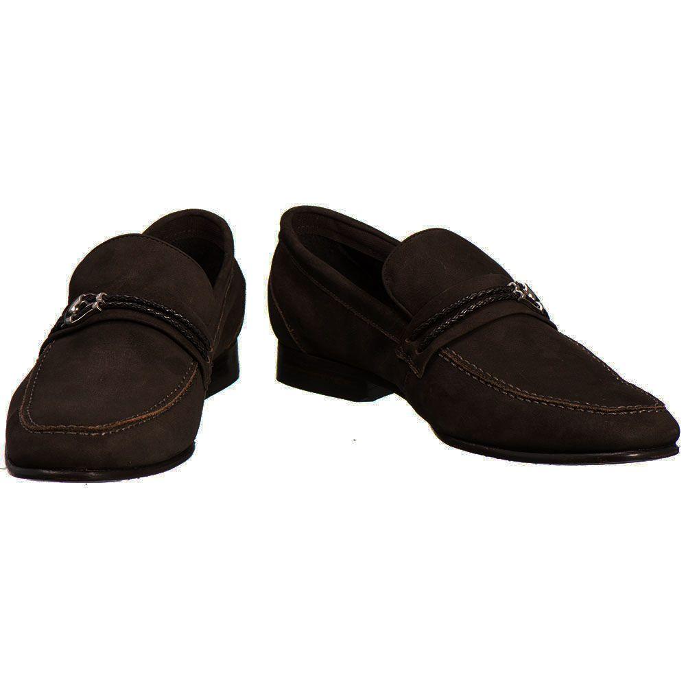 3da9257b7 Sapato Masculino Malbork Couro Café Solado Couro 12052 - FKV Calçados