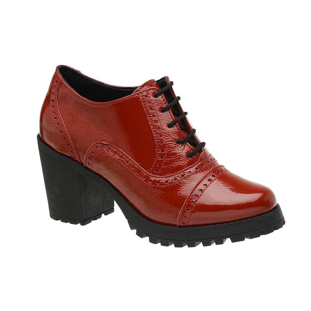 Sapato-Feminino-Oxford-Vermelho-Em-Couro-Salto-Tratorado-19000-01