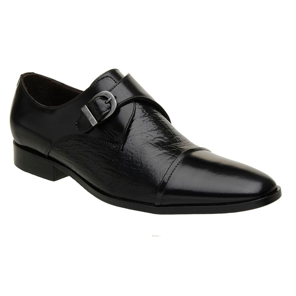 Sapato-Italiano-Masculino-Malbork-Couro-Preto-Com-Fivela-60077-01