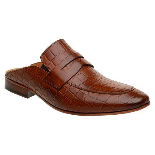 Sapato-Masculino-Slipper-Mule-Malbork-Couro-Croco-Caramelo-5846-01