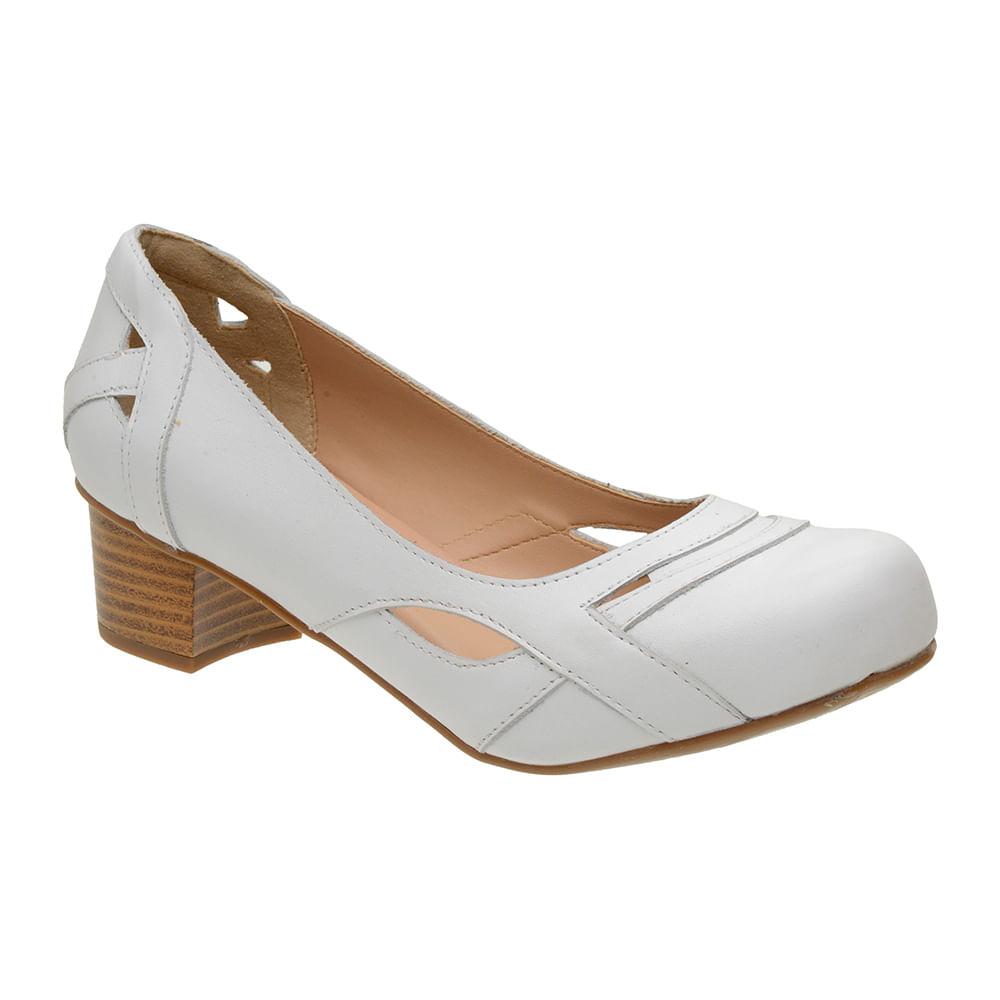 Sapato-Feminino-Boneca-Em-Couro-Branco-Com-Salto-Medio-3121-01