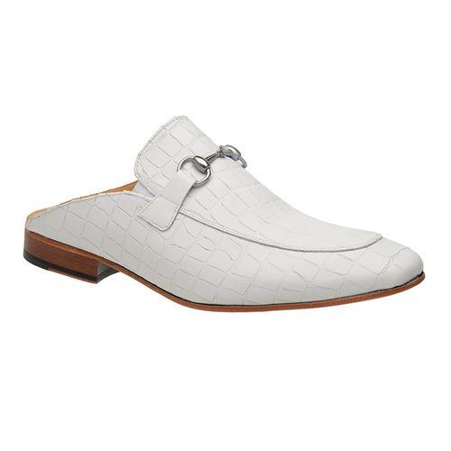 Sapato-Mule-Masculino-Malbork-Couro-Croco-Fosco-Branco-5849-01