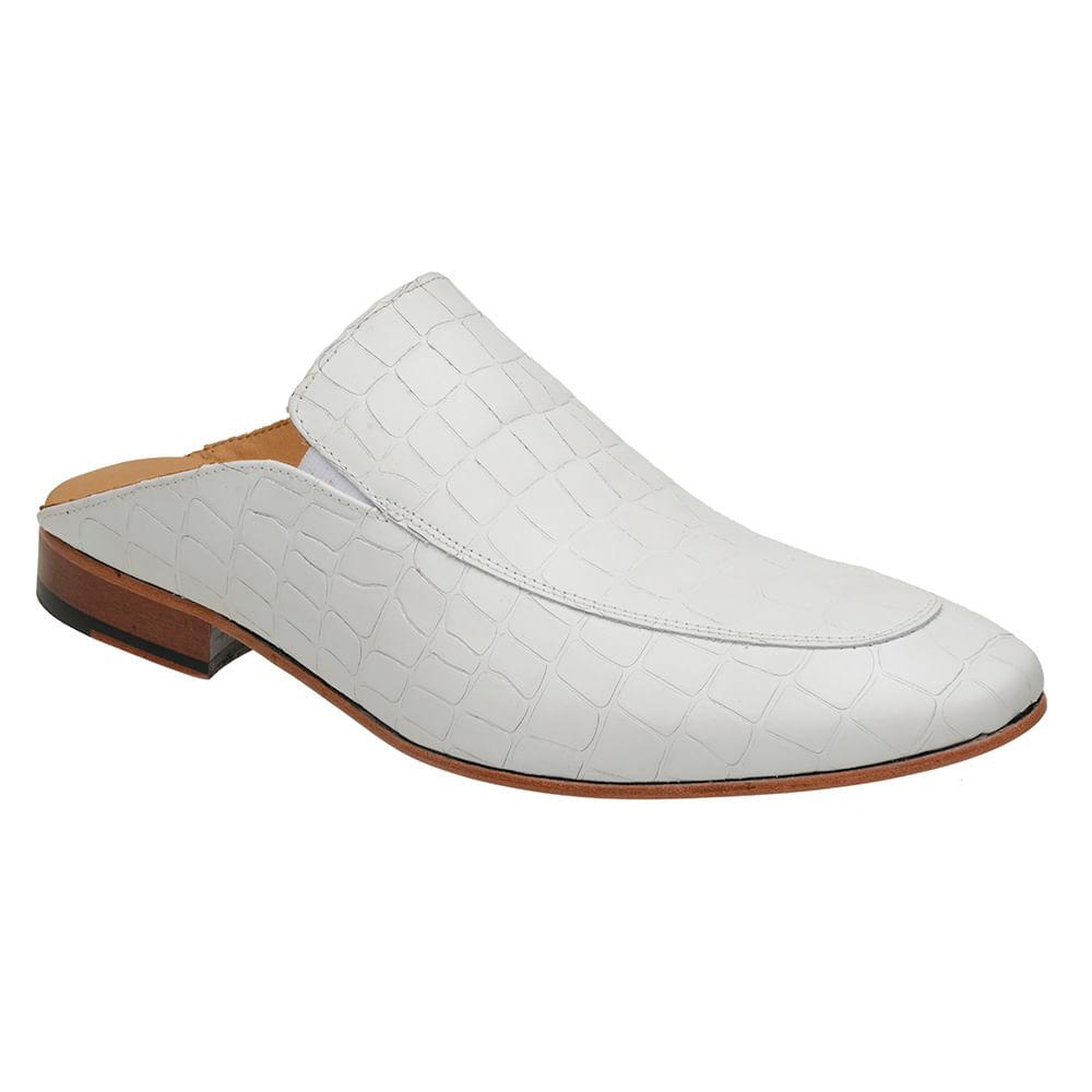 Sapato-Masculino-Slipper-Mule-Malbork-Couro-Croco-Branco-5845-01