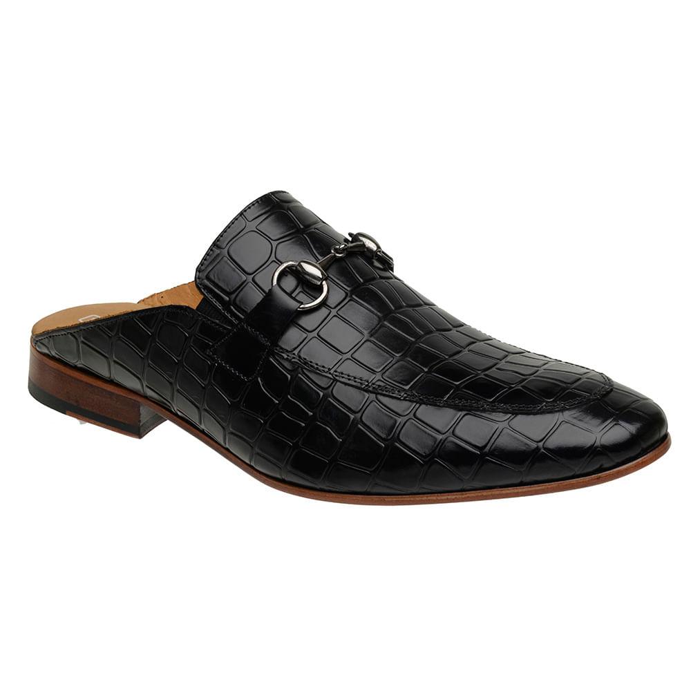 Sapato-Masculino-Slipper-Mule-Malbork-Couro-Croco-Preto-5849-01
