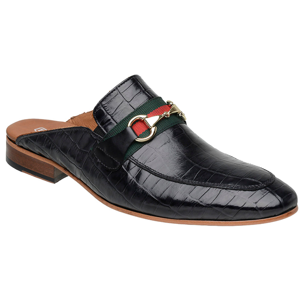 Sapato-Masculino-Slipper-Mule-Malbork-Couro-Croco-Preto-5850-01