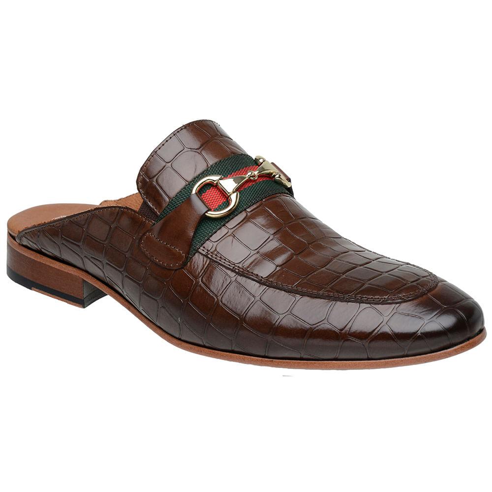 Sapato-Masculino-Slipper-Mule-Malbork-Couro-Croco-Marrom-5850-01